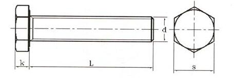 BS 1769-1951 重型粗制六角螺栓标